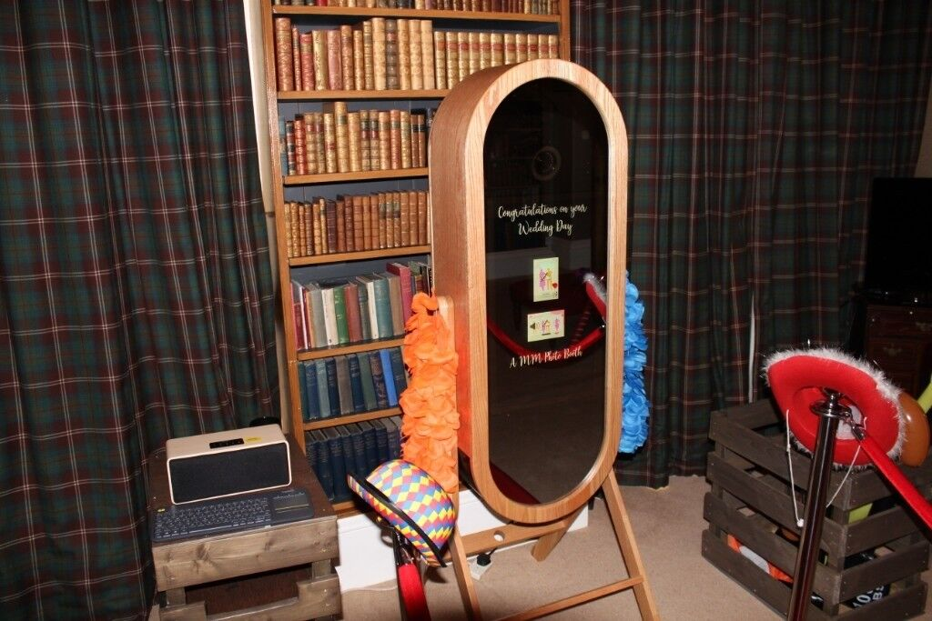 retro selfie mirror magic mirror photo booth | in Kilwinning
