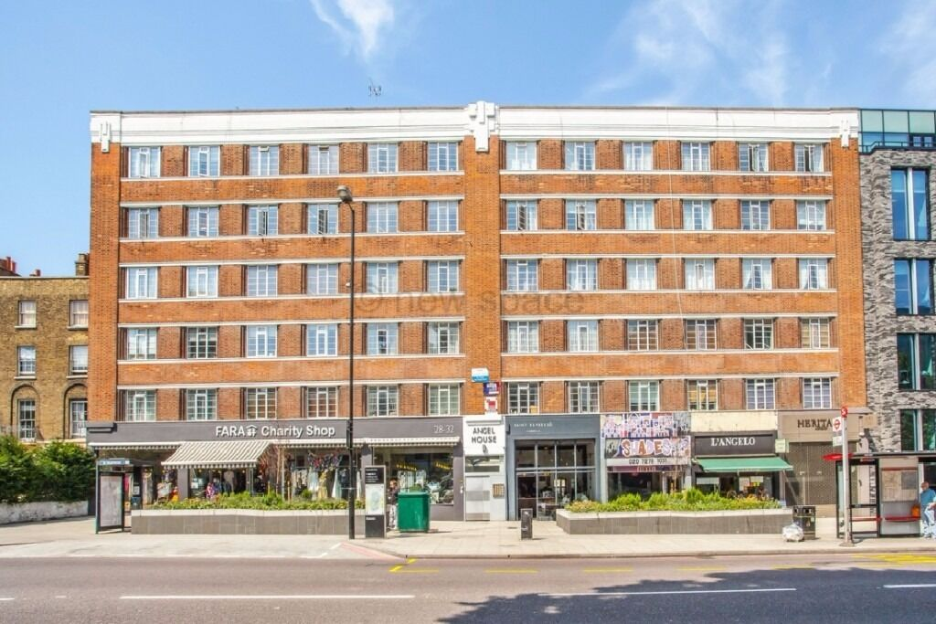 SPACIOUS 1DBL BED OVER 600SQFT IN HEART OF ANGEL!! HIGH SPEC!! MINS AWAY FROM STATION! CHEAP!
