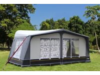 Camp-tech Savanna DL full traditional seasonal caravan awning