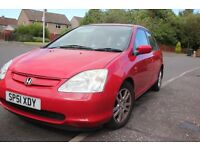 Automatic!, Honda Civic.Full year MOT.Sunroof