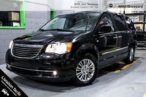 2014 Chrysler Town & Country LIMITED 30TH NAVI CUIR/SUÈDE
