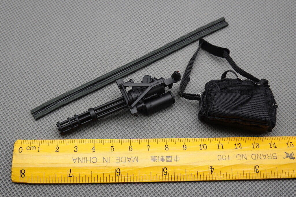 M134 Mini Gun Model for Great Twins T-800 1/12 Scale Action