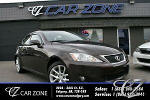 2012 Lexus IS 250 AWD, V6, Leather, Sunroof