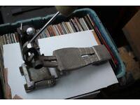 Premier 252 single compression bass drum pedal. - original version - '70s