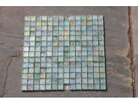 Fired Earth Oyster Mosaic Sage Tiles - Brand New
