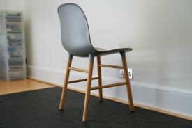 Normann Form Chairs - RRP £230 EACH - 🚚DELIVERY AVAILABLE🚚 Set of 1 2 4 6 Oak dining home office💡