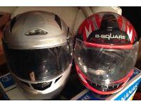 Motorcycle helmet X 2