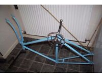 Bike frame and tires (NEW)