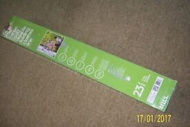 HILLS LARGE LOAD FOLDING DOUBLE WASHING LINE. WALL MOUNTED- OUTDOOR OR INDOOR.
