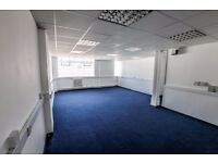 545 sq.ft Fully carpeted office in the Jewellery Quarter
