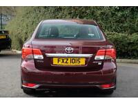 Toyota Avensis D-4D ICON (red) 2013-09-18