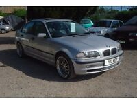 Bmw 318i 1895cc petrol,1998-private plate, new M.O.T upon purchase,123,000 miles,
