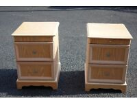 Set of Bedside cabinets