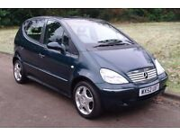 Mercedes A160L Avantgarde.. Very Low Miles.. FSH.. Superb & Lovely Example.. Bargain..