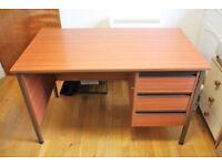 Office Desk – 3 Drawer Single Pedestal