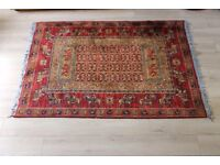 Royal Classic Traditional Red Wool Rug 130 x 170cm (approx)
