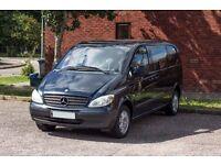 Mercedes Vito Dualiner Crew Van. Fantastic and versatile van only 83k