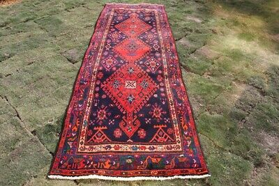 Used, STUNNING THREE MEDALLION TRIBAL CARPET RUNNER FULL PILES FOR HALL WAY RUNNER for sale  Shipping to Canada