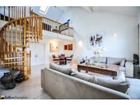 One of a kind, split level warehouse conversion in Wapping. 24hr concierge, private terrace, parking
