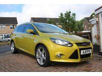 Ford Focus Estate Titanium 1.6 petrol, Full dealer Service History, 53k!