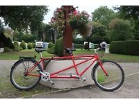 Tandem Thorn Voyager Bike for sale in very good condition Red and Black