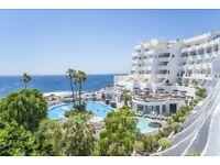 Hotels + accommodation in Tenerife, Gran Canaria + Lanzarote for Jan, Feb, March and April 2019