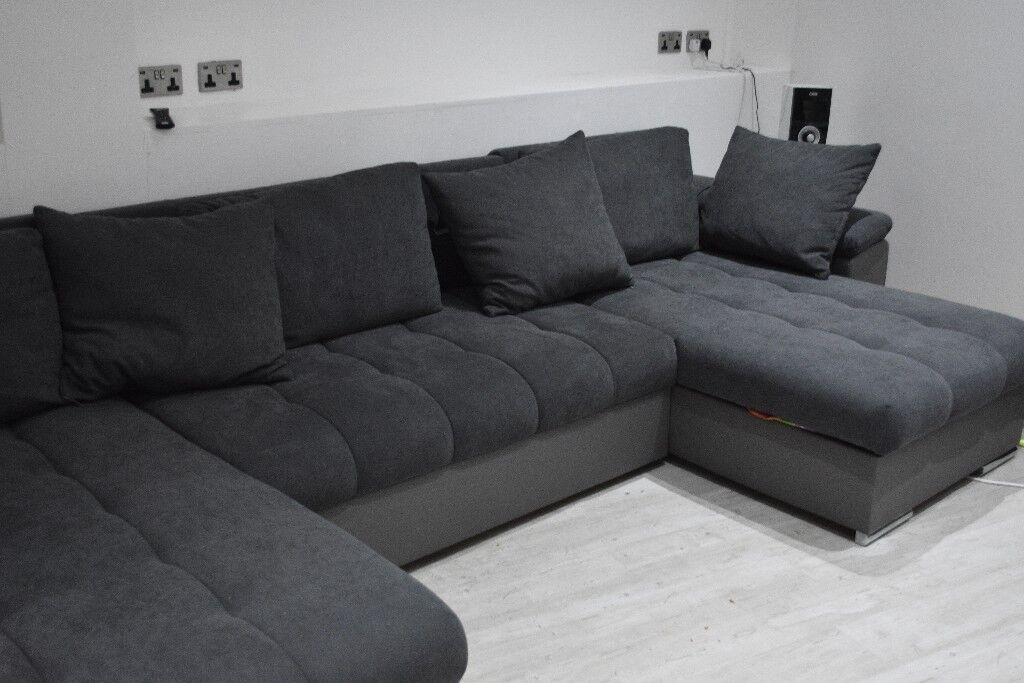 Large Grey Corner Sofa In Grantham Lincolnshire Gumtree