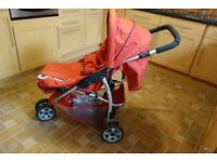 Cosatto buggy complete with cosy toes and rainwear,