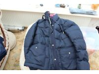 Blue Quilted Coat
