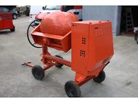 Belle Key -Start cement mixer
