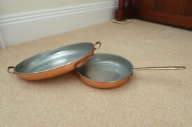 COPPER PANS £20