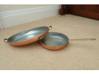 COPPER PANS £20