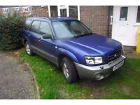 2003 SUBARU FORESTER X, 4X4 AWD, 2L, CAM BELT DONE, P.EX. SMALL-ISH VAN