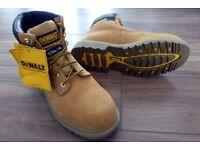 Men's DEWALT Leather Steel Toe Cap Boots