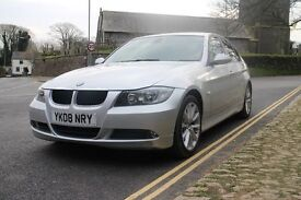 BMW 318i se, Low milage, Full black leather, 2yrs free service included