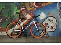BLACK FRIDAY Sale GOKUCYCLES Steel Frame Single speed road bike track bike fixed gear racing fixi t