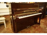 New mahogany upright Bentley piano - FREE UK delivery and FREE stool!