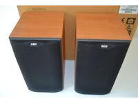 Bowers & Wilkins speakers DM601 S2 serial numbers 124131 & 124132 in Cherrywood