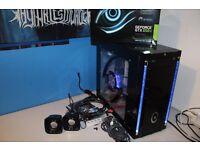 Custom Desktop Gaming PC AMD Quad Core 4.20GHz, GTX650 Ti, 8GB RAM, 1TB W/ Wireless Keyboard Mouse