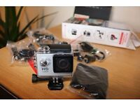 1080P Full HD Action Camera 30M Waterproof Camcorders Helmet Sport Car DVR for holiday watch on tv