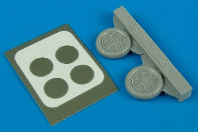 Aires 1:72 Fw-190 A-3/A-5 Wheels Paint Masks Resin Detail Set 7234