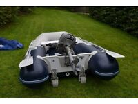 Honwave 2.5 inflatable with Honda 2.3 Outboard