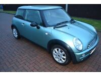 2002 BMW Mini one 1.6 mot dec, great car needs clutch spares repair