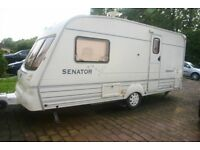 BAILEY SENATOR VERMONT,2BERTH, 2001, MOTOR MOVER, LOVELY CONDITION, READY TO GO, £3200.00 ONO