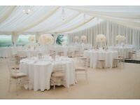 Large Floral Wedding Centrepieces - Cream & Pink