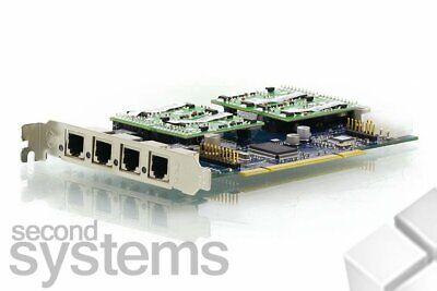 Digium Tdm410 4-port Rj-114x S110m Single Port Fxs Module - Asterisk Pbx