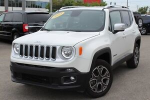 2015 Jeep Renegade LIMITED 4X4 *CUIR/GPS/HITCH*