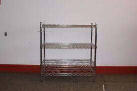 Adjustable Chrome Wire Shelf