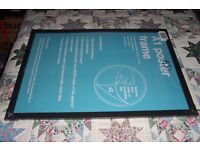 Maxi poster / picture frame A1 size - 84.1cm x 59.4cm New still in wraping.