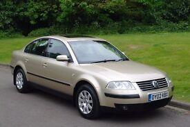 VW Passat 1.9TDi. Diesel Turbo 130Bhp. Tiptronic Automatic. Low Miles - FSH. Hi Spec. Must Be Seen.